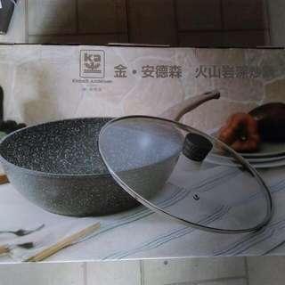 金安德森 火山岩深炒鍋