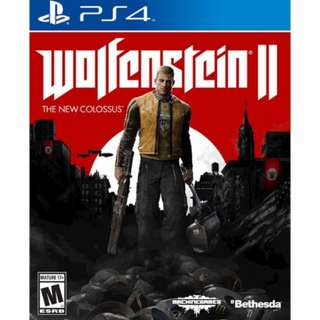 [Sales] PS4 Game: Wolfenstein II
