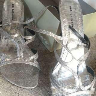 Gibi silver sandals