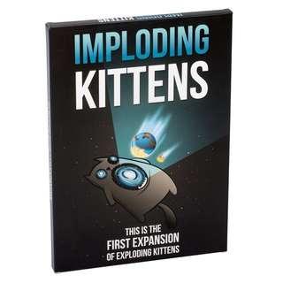 Imploding Kittens [Original Import US]