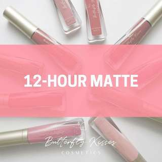 12 Hours Matte and Sheer Satin Lipstick