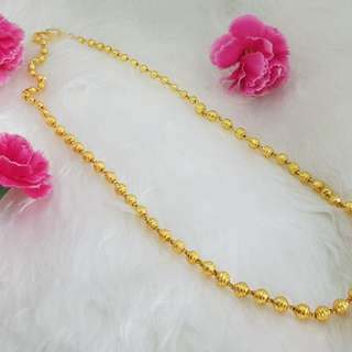 Gold plated Ball Chain
