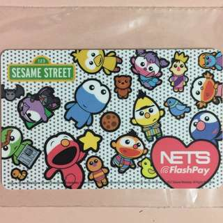 Limited Edition brand new Sesame Street Baby Design Nets Flash Pay Card For $13.