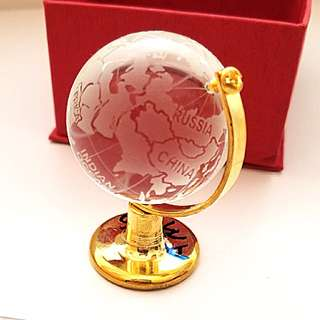 Spinnable Glass Globe