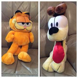 Garfield and Odie Stuffed Toy