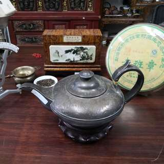1842's silver made teapot
