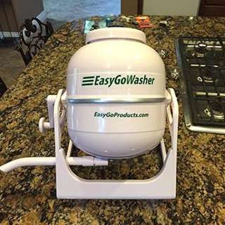 EasyGo WasherTM Rapid Mobile Wonderwash Clothes Washing Machine Pod