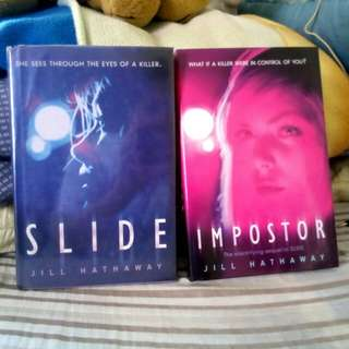 SLIDE AND IMPOSTOR By Jill Hathaway(php490 each/setphp900)