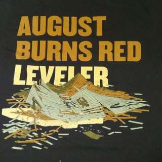 AUGUST BURNS RED LEVELER BAND TEE