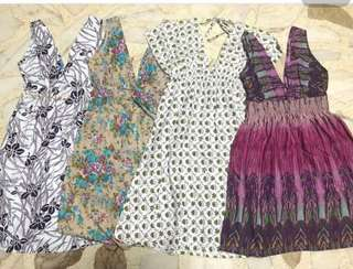 Take all! Large on tag but can fit m-l. Garterized.