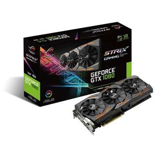 BNIB - ASUS ROG Strix GTX 1080 Advanced 8GB GDDR5X GRAPHIC CARD