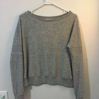 Silence + Noise Urban Outfitters fuzzy thin sweatshirt
