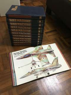 War Machines Full Set Magazines