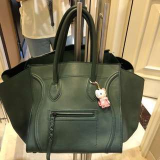 Authentic Celine Phantom Green