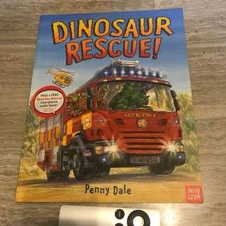 2 Books: Alfie flap book & Dinosaur Rescue!