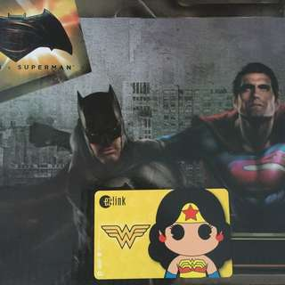 Limited Edition brand new DC Comics Wonder Woman yellow Design ezlink card for $19.