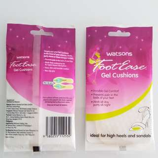 Watson Foot Ease Gel Cushions