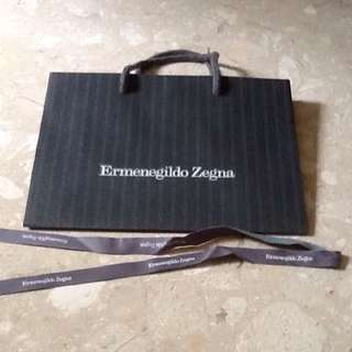 Ermenegildo Zegna paper bag - 28x21x10.5 cm
