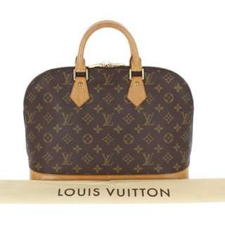 💯Louis Vuitton Alma Monogram