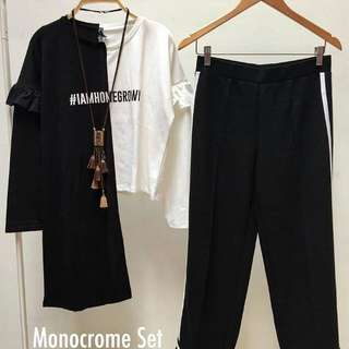 new monocrome set