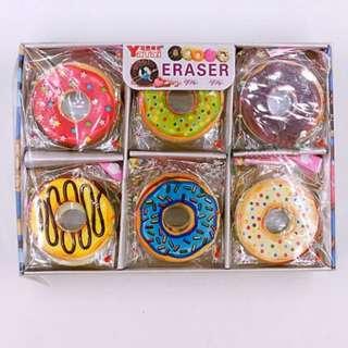 12pcs Donut Eraser