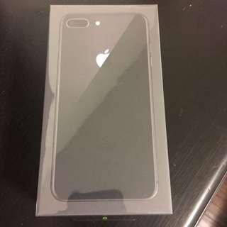 Iphone 8 plus 64gb grey (new)