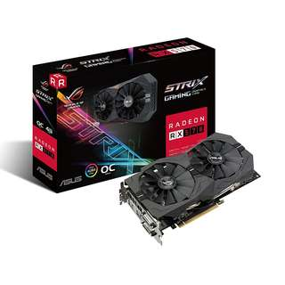 BNIB - ASUS ROG-STRIX-RX570-O4G-GAMING OC Edition GDDR5 GRAPHIC CARD