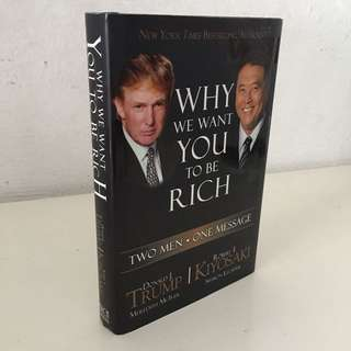 Why You Want To Be Rich (Hard Bound)
