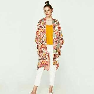 Zara Long Kimono / Outer Hijab / Muslim