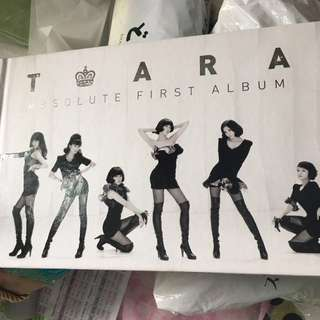 Tiara first album(韓國正版)