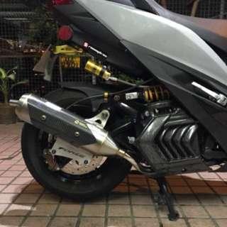 Yamaha Force155 Smax 排氣喉