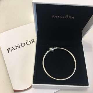Pandora 手鈪圓扣17cm