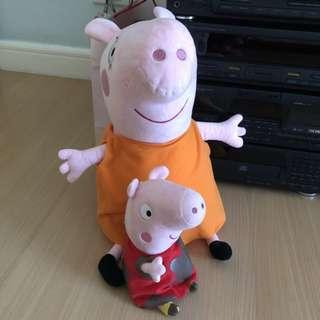 Peppa Pig stuffed toys
