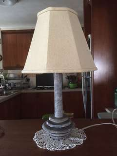 Table Lamp, marble base