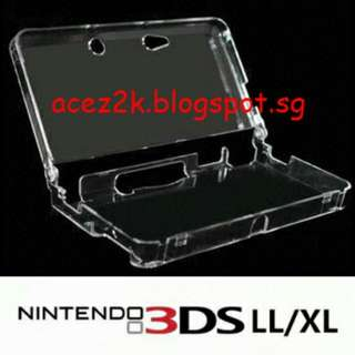 "[BNIB] ""old"" 3DS XL / LL Hard Crystal Case (Brand New)"