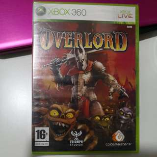 XBox 360 Overlord