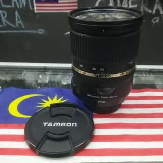 USED TAMRON SP 24-70MM F2.8 DI VC LENS (CANON MOUNT)