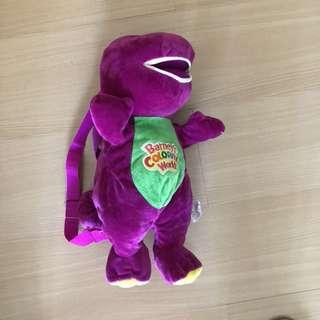 Barney backpack