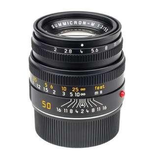 Leica 50mm f2 Summicron-M V5