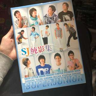 Super junior photobook 純影集/寫真