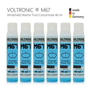 VOLTRONIC Windshield Washer Fluid Concentrate - 40ml ( Made In Germany )