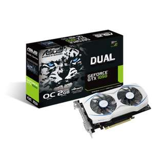 BNIB - ASUS Dual GTX 1050 OC edition 2GB GDDR5 GRAPHIC CARD