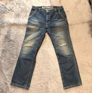 Ripped jeans size 32-34