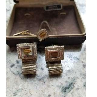 Elegant Vintage Cufflink Set