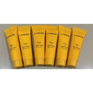 RESTOCK! Laneige Watery Sun Cream SPF 50 + Trial Kit Sample Size 100% Original Korea
