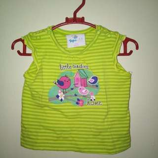 Topo mini top for baby girl
