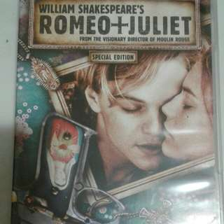 Romeo and Juliet Movie DVD