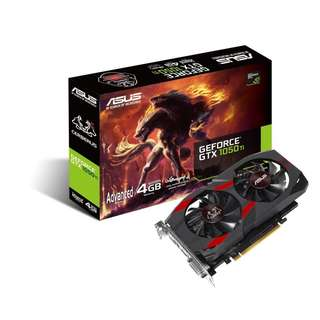 BNIB - ASUS Cerberus GeForce® GTX 1050 Ti Advanced 4GB GDDR5 GRAPHIC CARD