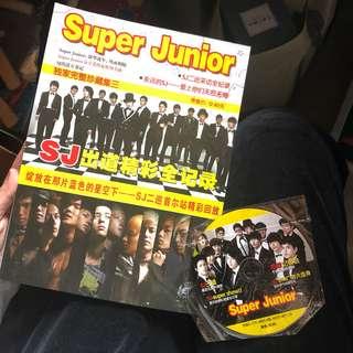 super junior 成長記 雜誌連光碟