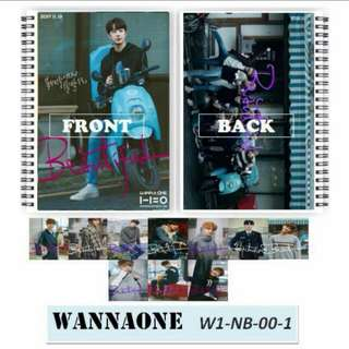 Wanna One Notebook